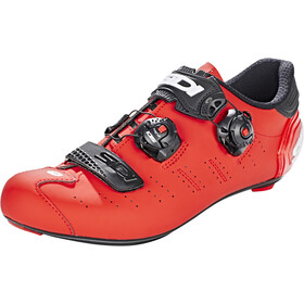 Sidi Ergo 5 Carbon Shoes Herr matt red/black